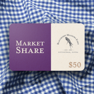 Market Share Card (Single card, $50)